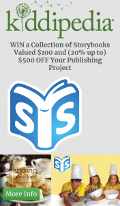Kiddipedia – Win a Collection of Storybooks Valued $100 and (20% Up To) $500 Off Your Publishing Project (prize valued at $100)
