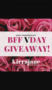 Kirra Jane Boutique – Win a $50 Kirrajaneboutique Gift Voucher for You and a Besty to Spend In Our Beautiful Boutique ✨ (prize valued at $100)