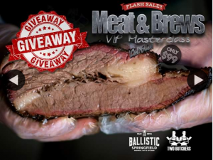 Lole's Barber Shop – Win Tickets to Two Butchers/ballistic Meat & Brews VIP Tent & Masterclass