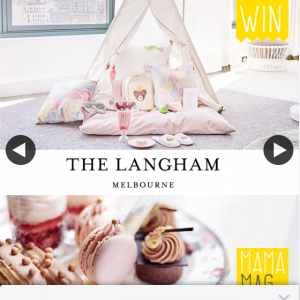 MamaMag – Win Family Luxury Overnight Stay (prize valued at $2,000)