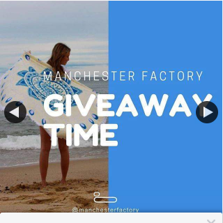 Manchester Factory – Win a Round Beach Towel 4pm