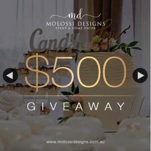 Molossi – Win a $500 Gift Voucher