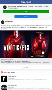 Monster Fest – Win a Double Pass