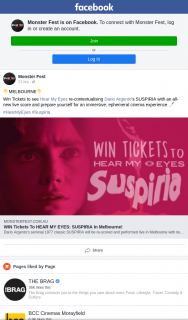 Monster Fest – Win Tickets to See Hear My Eyes Re-contextualising Dario Argento's Suspiria With an All-New Live Score and Prepare Yourself for an Immersive