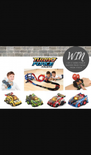 Mouths of Mums – Win 1 of 5 Turbo Force Racers Prize Packs From Vtech (prize valued at $119.95)
