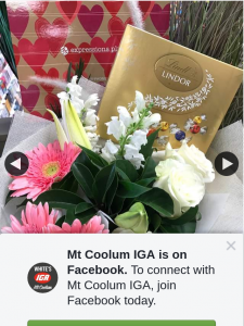 Mt Coolum IGA – Win a Gorgeous Bouquet of Flowers and Some Yummy Chocolates