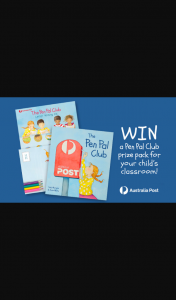 Mum Central – Win a Classroom's Worth of Pen Pal Writing Kits (prize valued at $300)