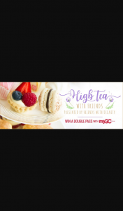 myGC – Win a Double Pass to High Tea With Friends