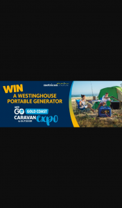 myGC – Win a Westinghouse Portable Generator (prize valued at $1,399)