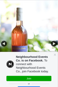 Neighbourhood Events Co – Win a Bottle of 2019 Dormilona Rosado