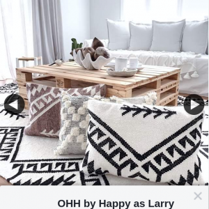 OHH by Happy as Larry – Win Free Cushion