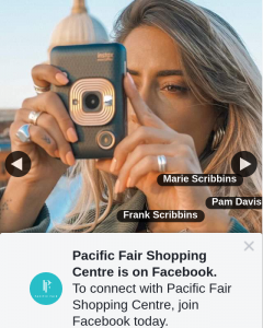 Pacific Fair Shopping Centre – Win an Instax Mini Liplay Camera (prize valued at $219.95)
