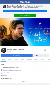 Palace Cinema Paradiso – Win a Double Pass to The Alliance Française French Film Festival