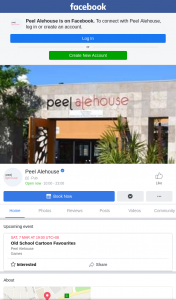 Peel Alehouse – Win a $100 Voucher to Use this Weekend at Peel Alehouse (prize valued at $100)