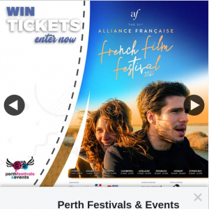 Perth Festivals & Events – Win Tickets to The The Alliance Francaise French Film Festival