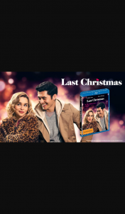 Plusrewards – Win Your Very Own Romantic Night Out Thanks to The Release of Last Christmas on Blu-Ray™ and Digital