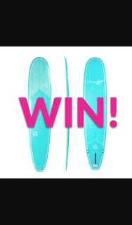 Purecocobella – Win an Aquatic Social Scene Longboard for a Summer Surfing Adventure (prize valued at $499)
