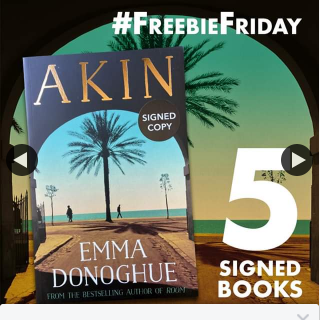 QBD Books – Win 1 of 5 Signed Copies of Akin By Emma Donoghue
