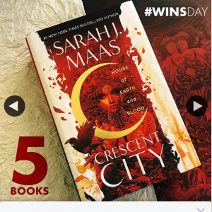 QBD Books – Win One of Five Copies of Sarah J Maas New Book Crescent City