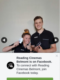Reading Cinemas Belmont – Win a Double Pass to See Any Movie on Valentine's Day