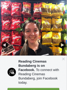 Reading Cinemas Bundaberg – Win a Double Pass to See Any Film Valentine's Day