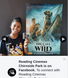 Reading Cinemas Chirnside Park – Win a Double Pass to See The Call of The Wild