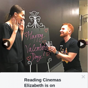 Reading Cinemas Elizabeth – Win a Double Pass for Valentine's Day