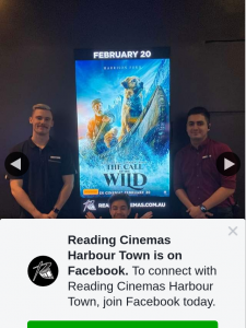 Reading Cinemas Harbour Town – Win a Double Pass to See Call of The Wild