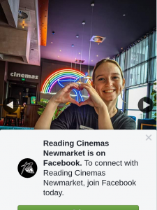 Reading Cinemas Newmarket – Win a Double Pass and a Dinner Package