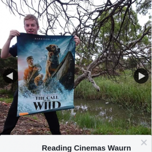 Reading Cinemas Waurn Ponds – Win a Double Pass to The Call of The Wild