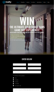 @realty ULTIMATE GOLD COAST SUNS GAME DAY EXPERIENCE flights and acc – Competition (prize valued at $5,000)