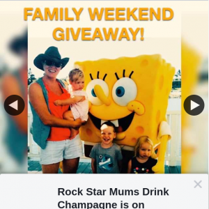 Rock Star Mums Drinks Champagne – Win a Weekend Away to Sea World Resort on The Gold Coast
