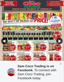 Sam Coco Trading – Win a $100 Store Voucher