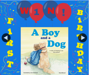 Shae Millward Author – Win a Copy of a Boy & a Dog Book (prize valued at $16.99)