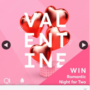 Skypoint Australia – Win a Romantic Night for 2 this Valentine's Day