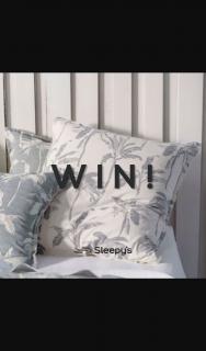 @sleepysaus – Win an Amazing @linen_house Tropea Denim European Pillowcase