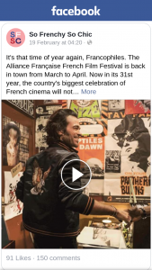 So Frenchy So Chic – Win One of Five Double Passes to See a Film During The Alliance Francaise French Film Festival