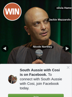 South Aussie With Cosi – Tickets to See Akmal at The Adelaide