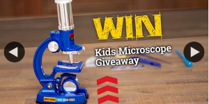 STEM Mayhem – Win this Kids Microscope