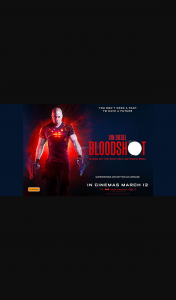 Student Edge – Win a Double Pass to Bloodshot Promotion (prize valued at $1,680)