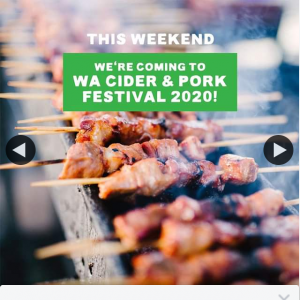 SubZero Gelato – Win 1/2 Double Passes Wa Cider & Pork Festival