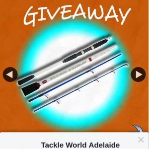 Tackle World Adelaide Metro – Win 1/4 Penn Southern Specialist Rods