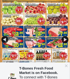 T-Bones Fresh Food Market Aspley – Win a $50 Or $100 T-Bones Voucher