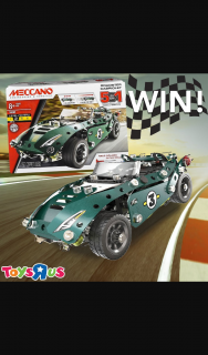 Toys R Us Australia – Win this Meccano Roadster 5 In 1 Model Set for The Racing Car Driver In Your House