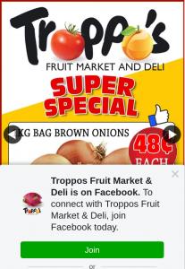 Troppos Fruit Market – Win a $100 Troppo's In-Store Voucher