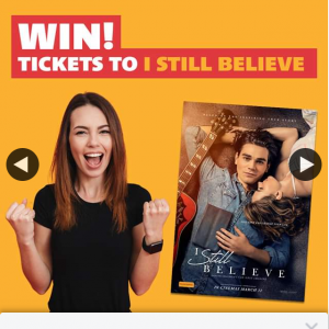 WA Housing Centre – Win One of 3 Double In-Season Passes to See I Still Believe