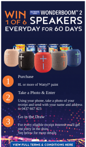 Wattle paint – Win a Ue Wonder Boom