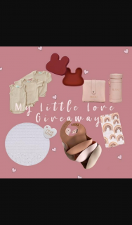 We might be tiny – Win My Little Love Giveaway (prize valued at $44.85)