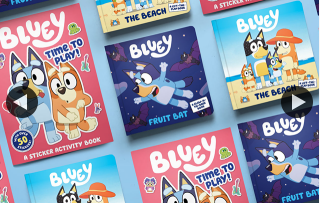 Westfield Carindale – Win One of 15 Bluey Book Packs By Telling Us In 25 Words Or Less Who Would You and Your Kids Be If You Were In The Show With Bluey