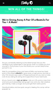 5Why – Win a Pair of Urbeats3s for You & a Mate